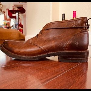 Frye Leather Boots 1 Men